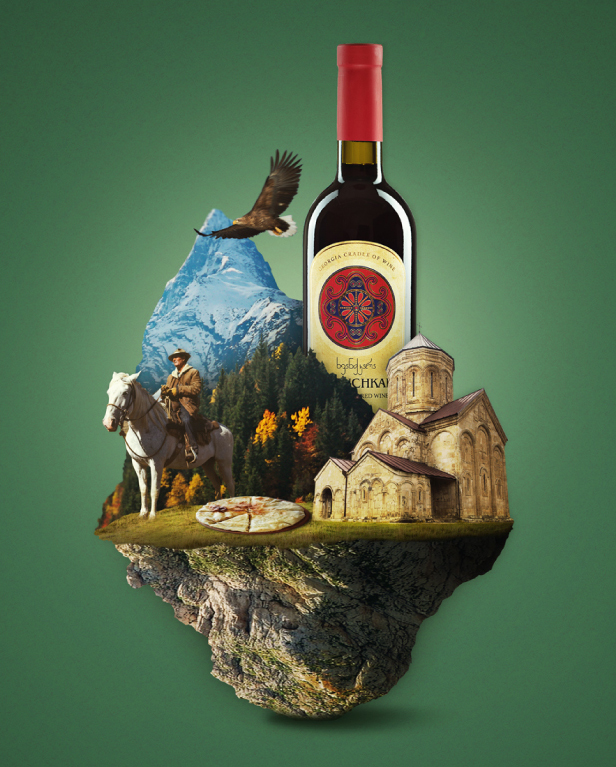 Georgian Wine - Social Media Posters